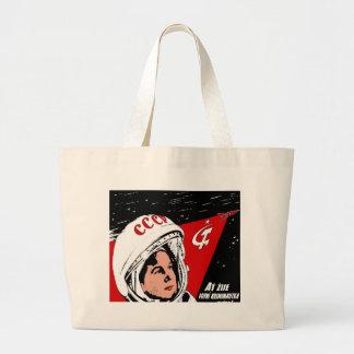 Valentina Tereshkova Large Tote Bag