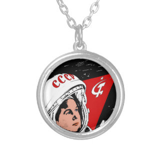 Valentina Tereshkova Silver Plated Necklace