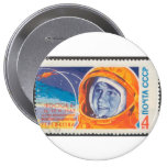 Valentina Vladimirovna 1st Woman in Space Buttons
