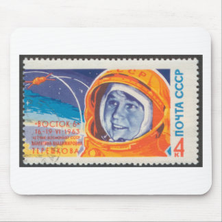 Valentina Vladimirovna 1st Woman in Space Mousepads