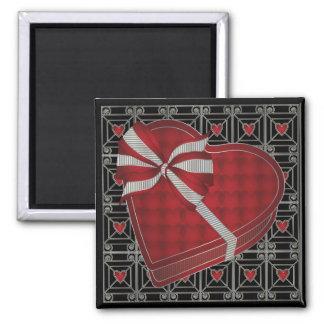 Valentine 02 Chocolate Box 2 Inch Square Magnet