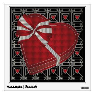 Valentine 02 Chocolate Box Wall Sticker