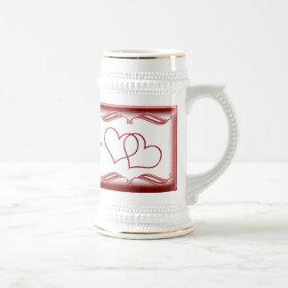 Valentine #1 beer stein