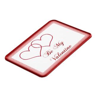 Valentine #1 rectangular photo magnet