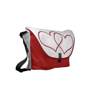 Valentine #1 small messenger bag