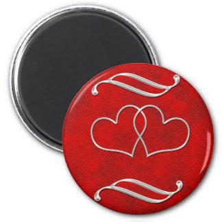 Valentine #2 2 inch round magnet