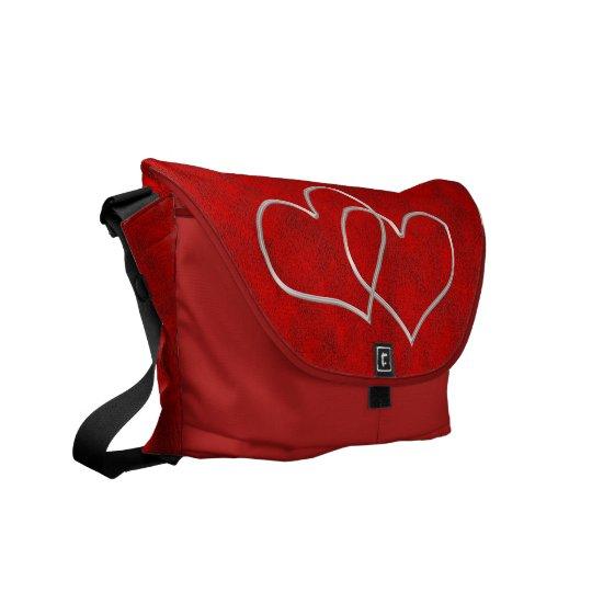 Valentine #2 messenger bag