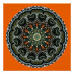 Valentine 6 Mandala Print Poster