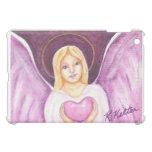 Valentine Angel with Heart iPad Case