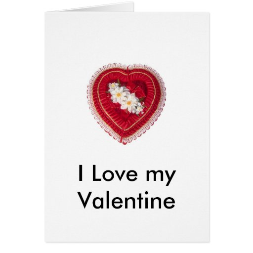 Valentine' s - Caja del corazón, I Lo… - Modi Felicitación