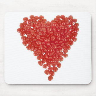 Valentine's - Candy Heart Mouse Pad