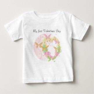 Valentine Apparel with Flowers & Butterflies Shirt