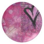 Valentine Art Plate