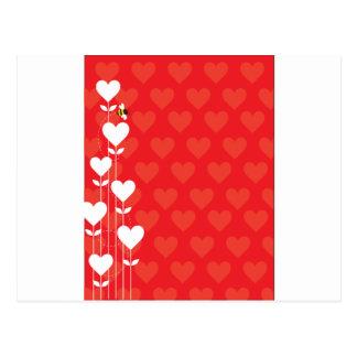 Valentine Background Post Cards