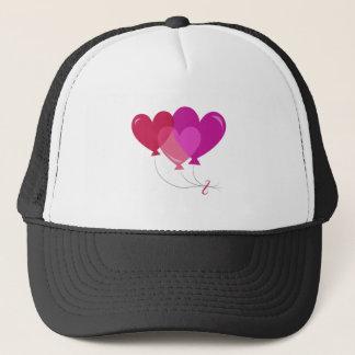 Valentine Balloons Trucker Hat