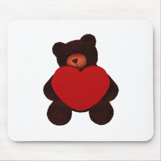 Valentine Bear Mouse Pad