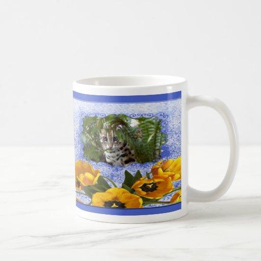 Valentine Bengal Cat Mug