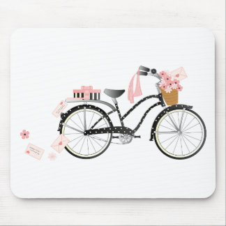 Valentine Bicycle Mouse Mats