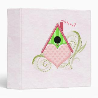 Valentine Birdhouse Binder