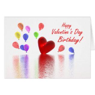 Valentine Birthday Celebration Card at Zazzle