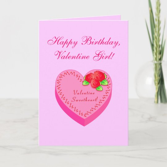 Valentine Birthday Father Mother To Daughter Holiday Card Zazzle