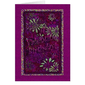 Valentine Birthday! - Verse Inside Card