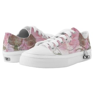 Valentine Blush Low-Top Sneakers