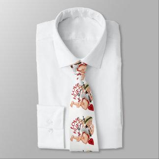 valentine boy love neck tie