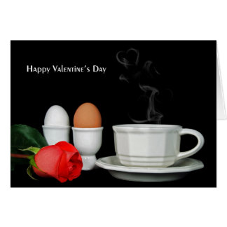 Valentine Breakfast Card