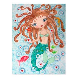 """Valentine Bubbles"" Postcard"