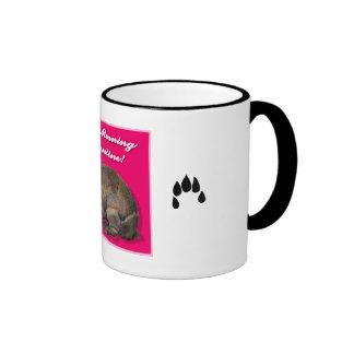 Valentine Bunny Rabbit Good Morning Mug