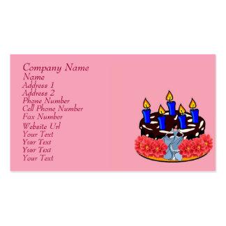 Valentine Cake Business Cards