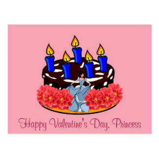Valentine Cake Post Cards