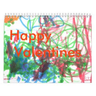 VALENTINE CALENDER - Customized Calendar