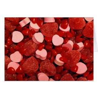 Valentine Candies Card
