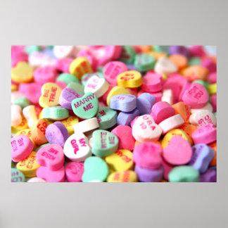 Valentine Candies Poster
