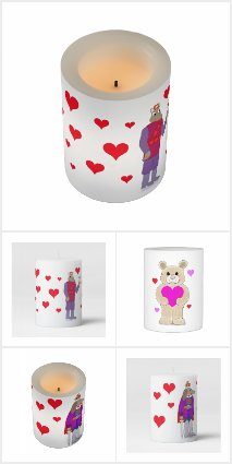 Valentine Candles