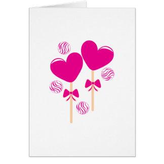 Valentine Candy Card
