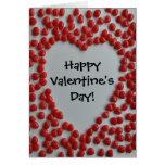 valentine candy heart Happy Valentine's Day card