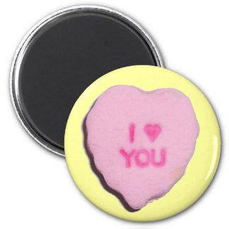 Valentine Candy Heart Magnet