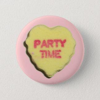 Valentine Candy Heart Pinback Button