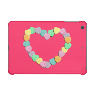 Valentine Candy Hearts Heart iPad Mini Retina Cover