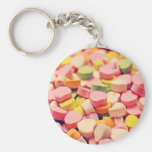 Valentine Candy Hearts Keychain