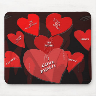 Valentine Candy Mouse Pad