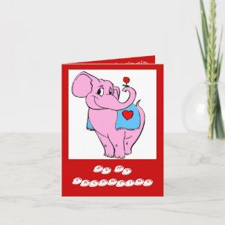 Valentine Card card