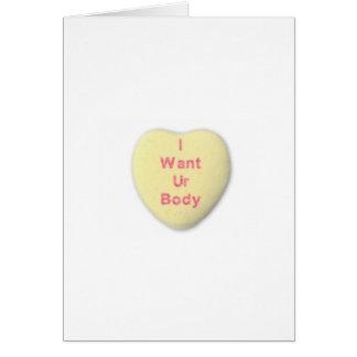 Valentine card for boyfriend husband