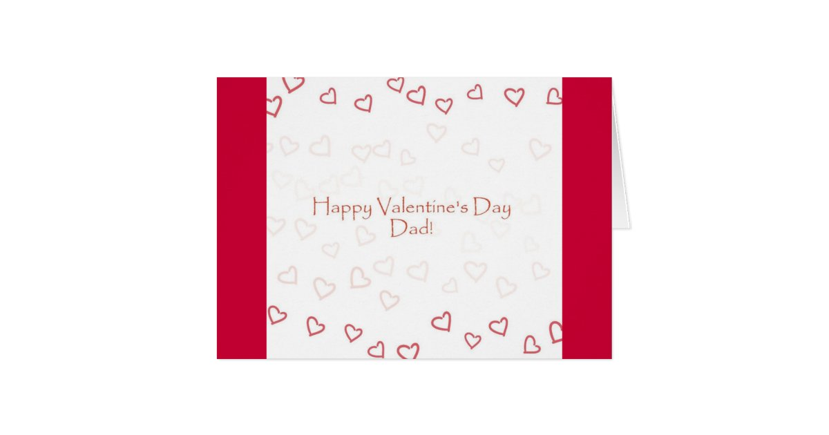Valentine Card for Dad from Daughter – Valentines Card for Dad