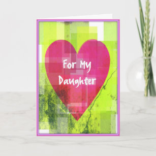 Valentine for daughter cards zazzle valentine card for daughters m4hsunfo
