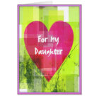 Valentine Card for Daughters