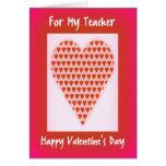 Valentine Card for Teachers